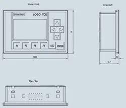 6ED1055-4MH08-0BA0  SIEMENS LOGO TD Text Display 3 background colors 6-line
