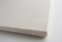White Monks Cloth Basket Weave Fabric