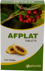 Afflatus Afplat Tablets, Packaging Type: Strips