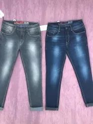 Neted Denim Jeans