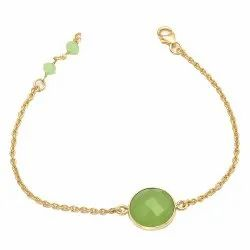Sea Green Chalcedony Everyday Bangle