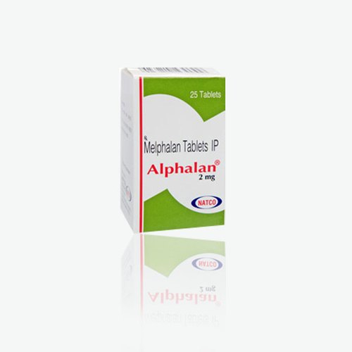 Alphalan 2 Mg Melphalan 2mg Tablets, Packaging Type: Bottles, Natco