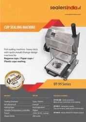Foil Sealing Machine for Paper Cups , Bagasse Bowls