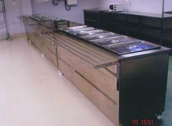 Stainless Steel Kitchen Bain Marie Counter