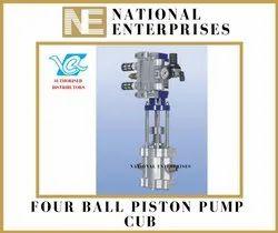 CUB Four Ball Piston Pumps