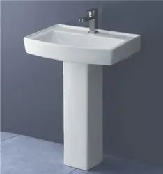 Pedestal Ceramic Kag Cynor Wash Basin