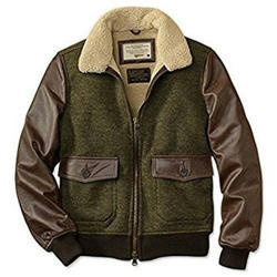 Woolen Leather Jackets