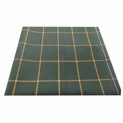Trendy Check Suiting Fabric, GSM: 100-150