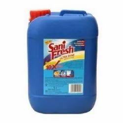 Blue Liquid Sani Fresh Toilet Cleaner, Packaging Size: 5 Ltr