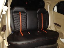 Bab Living Four Wheeler PU Leather Car Seat Cover