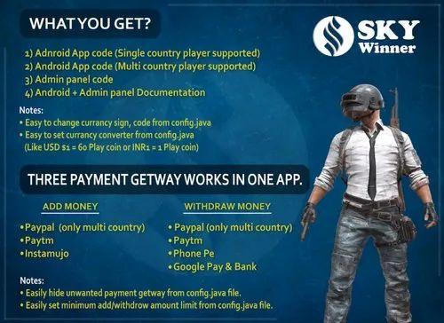 Custom Offline & Online PUBG Tournament App Development | ID