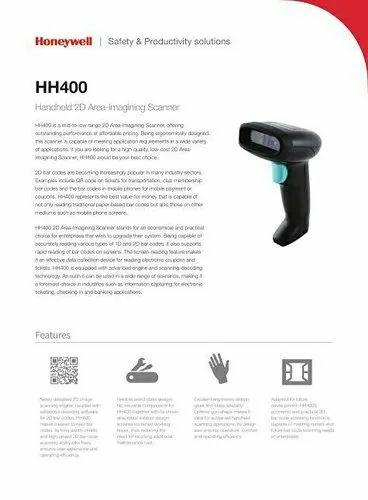 Honeywell Hh400 Barcode Scanner