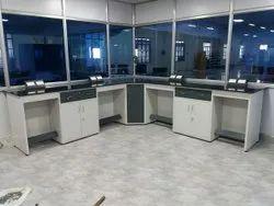 Lab L Shape Tables