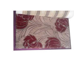 Printed Lurex Chenille Sofa Fabric