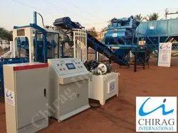 Chirag Semi Automatic Brick Manufacturing Plant