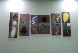 Flo Art Hanging Wall Canvas, Shape: Rectangular