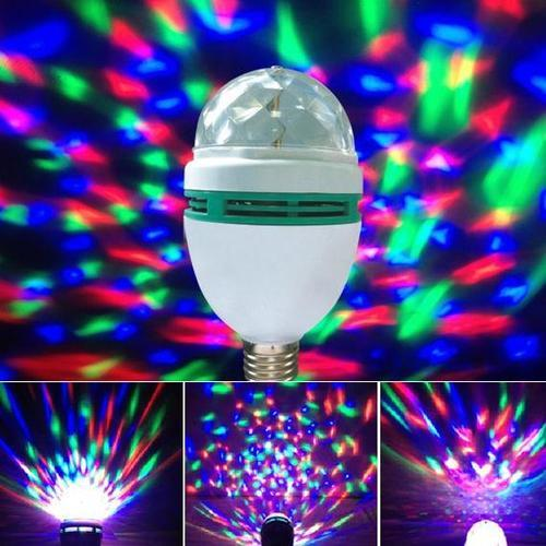 disco light mini party lamp led 3w multi colour effect at rs 150