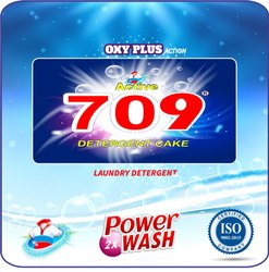 709 Detergent Cake 250g, Shape: Rectangle