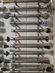 Chrome Plated Curtain Rods