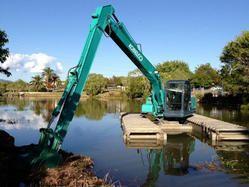 Excavator Amphibious Tracks