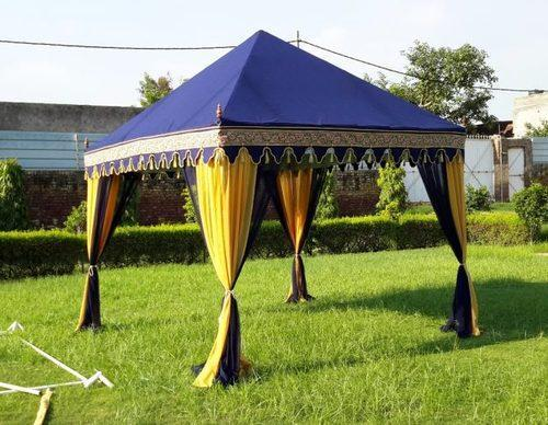 Pyramid pvc gazebo tent rs 26000 piece bharat tent manufacturers