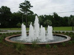 Multicolor Outdoor Fountain, For Decoration