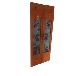 Hinged Coated PVC Solid Door