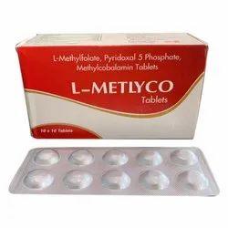 L-Methylfolate Pyridoxal 5 Phosphate Methylcobalamin tablets