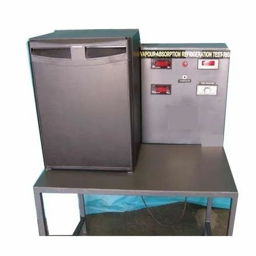Refrigeration & Air Conditioning Lab - Water To Water Heat Pump Test