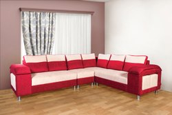 Bold bella Wooden Cordial L Shape Sectional Sofa Set, Hall, Size: 5 Seater