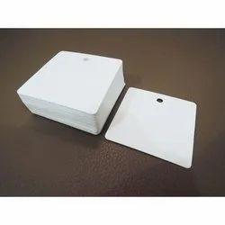 Plain White Paper Hang Tag