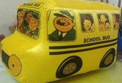 Customised School Bus Toy