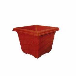 Square Spiral Planters Pot