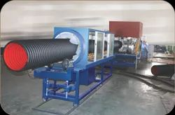 Double Wall Corrugator Pipe Machine