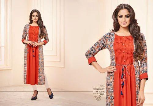 908dbf097a KURTIS WHOLESALE SURAT - Lt Fabrics Bliss Kurti Wholesaler from Surat