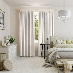 Plain and Stripped Linen Curtains
