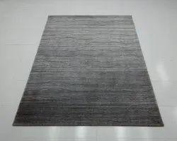 Handloom Woolen Carpets Multi Brown