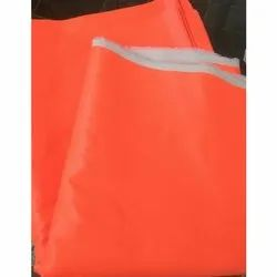Orange Plain Industrial Uniform Fabrics, Packaging Type: Plastic Bag
