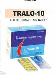 Escitalopram 10 Mg Tablet