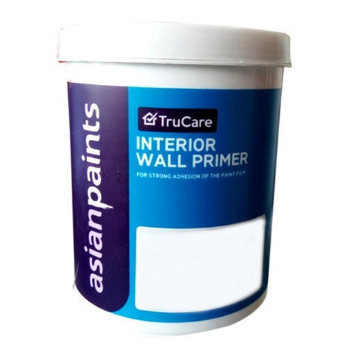 Asian Paints Interior Price List: Asian Paints Trucare Interior Wall Primer, Rs 2100 /litre