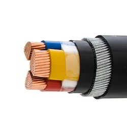 Gemini and Tirupati Three Core Cable CU PVC SWA PVC Power Cable 600 to 1000