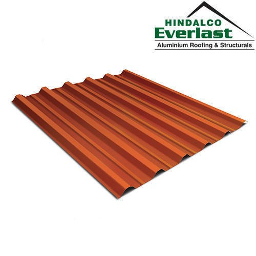 White Aluminium Hindalco Everlast Roofing Sheets ...