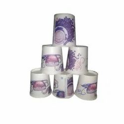 110 mL Printed Paper Cup, Packet Size: 100 Pieces