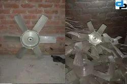 Aluminum Impeller 8 Blade Dia 600 mm