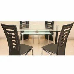 Wood Brown Modular Dining Room Set