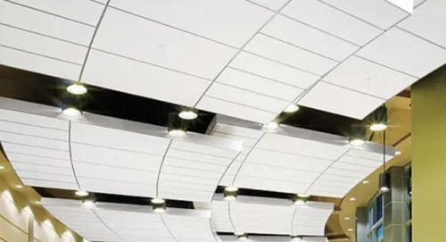 Mineral Fiber Ceiling Roofing And False Ceiling Odd