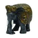 Grey Elephant Showpiece Cum Paper Weight
