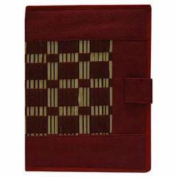 Jute Folders With Bamboo