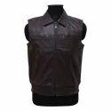 Mens Pu Leather Vest