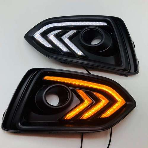Home 7 Motorcycle Round Led Headlight Turn Signal Lamp Hi/lo Beam Drl Day Time Running Lights For Harley Davidson Keep You Fit All The Time